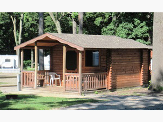Sleeping Cabin – Michigan City Campground – Your Getaway